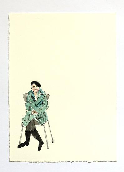 'London Life' Sketch | By Helen Beard