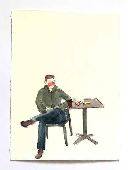 'London Life' Sketch   By Helen Beard