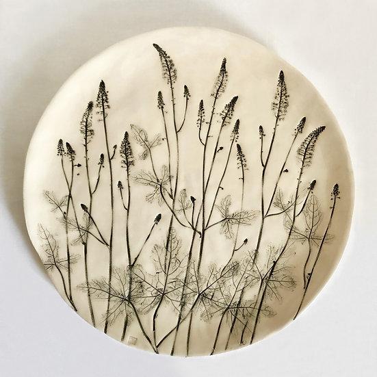 Foam Flower Wall Plate | By Zuleika Melluish