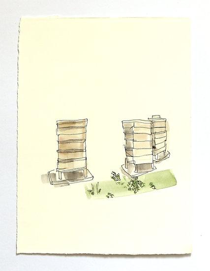 'Garden Series' Sketch | By Helen Beard