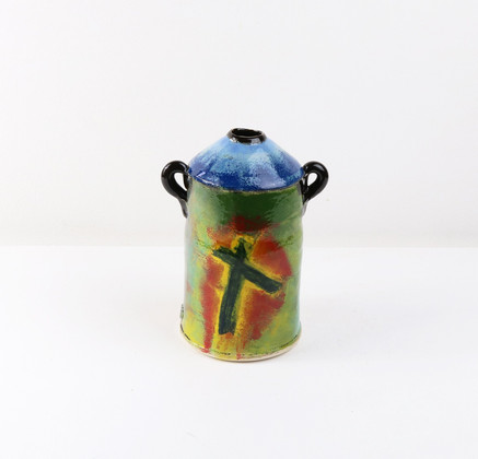 Vase with Lugs by John Pollex
