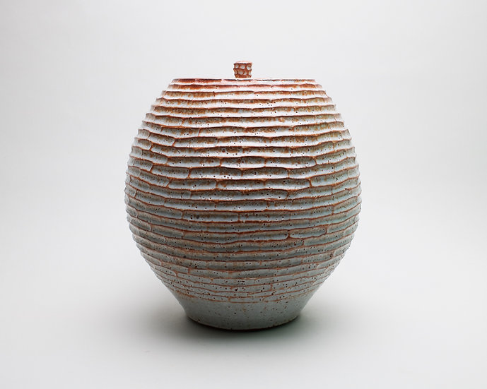 Large Lidded Jar | By Roelof Uys