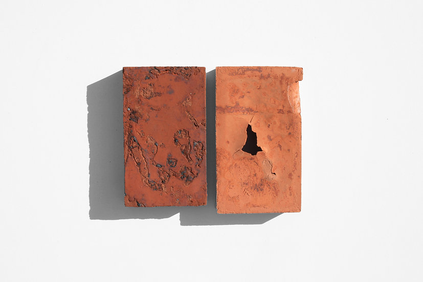 Rust 27 (Pair) | By Nadire Gokmen