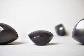 C. Kat Evans | smoke fired ceramic sculp