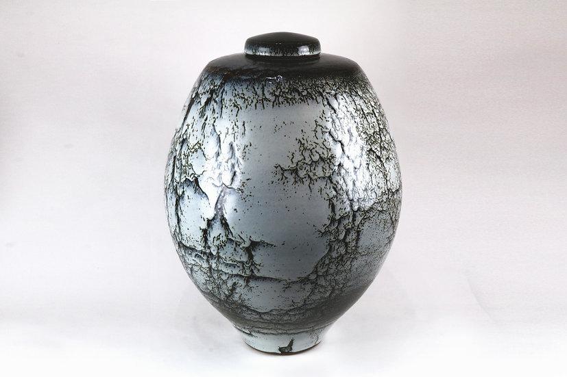 Large Lidded Jar | By Peter Sparrey