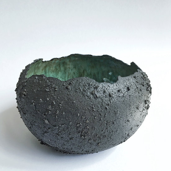 Meteorite Vessel | By Lisa Ommanney