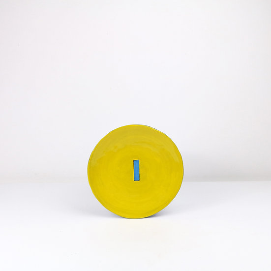'Colour Me Bright' Side Plate   By Clementina Van Der Walt