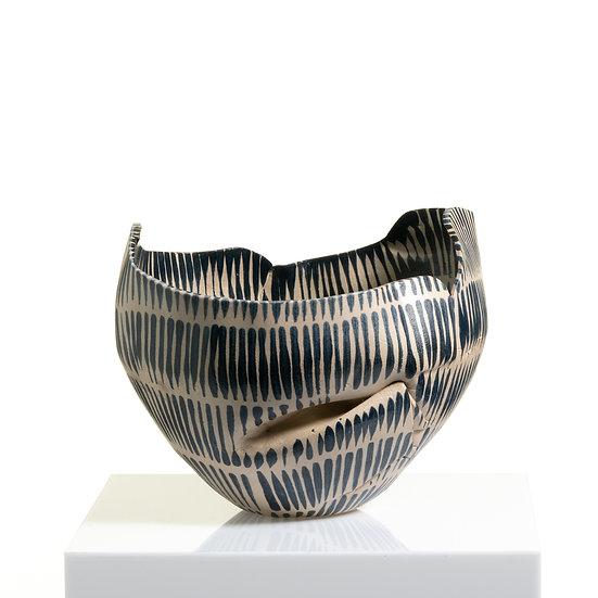 Hand-Built Distorted Sculptural Vessel | By Karine Hilaire