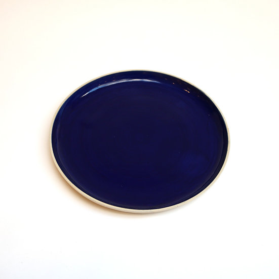 Dark Blue Plate   By Melisa Dora