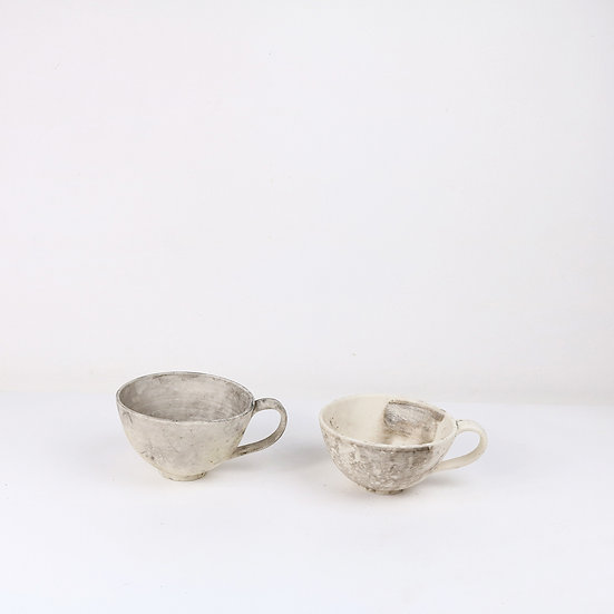 Sealed Earth Cups (left)   By Alison West