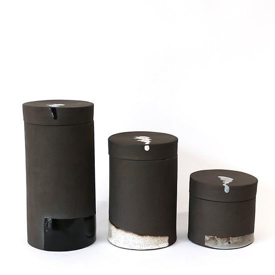 Trio of Jars | By Carla Sealey (aka Naked Clay Ceramics)
