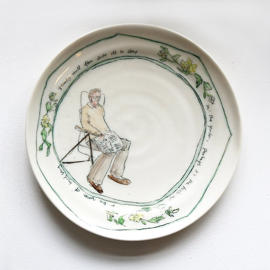 A Plate about a Grandfather   By Helen Beard