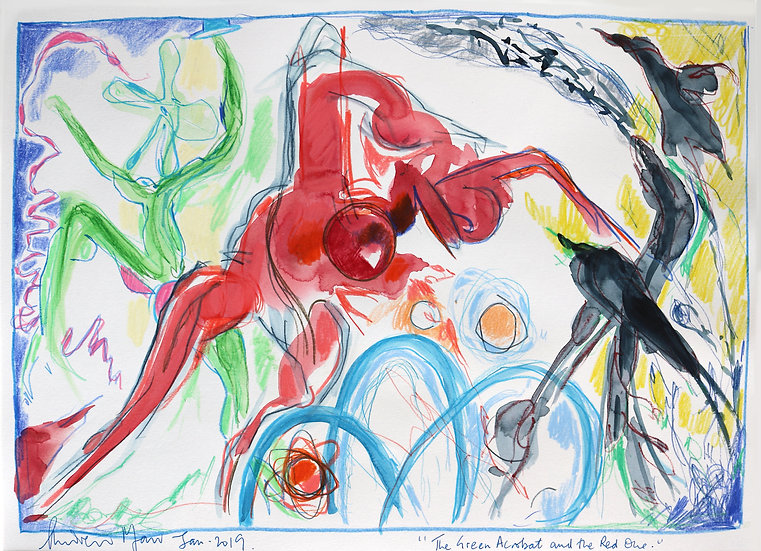 The Green Acrobat and the Red One   By Andrew Marr