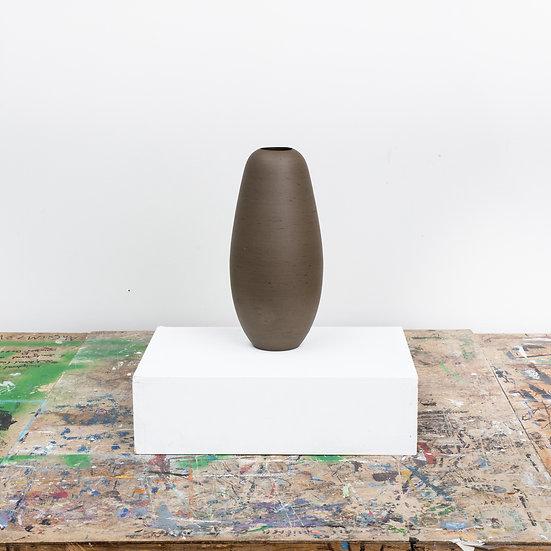 Rounded Vase - Dark Olive | By Luke Eastop