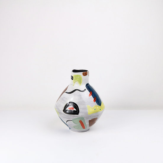 Painted Fusion Vase   By Clementina Van Der Walt