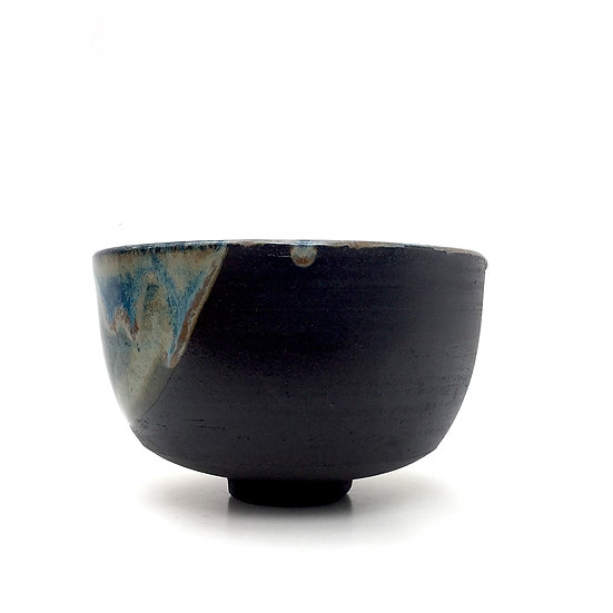 Blue Shale Chawan | By Sylvie Joly