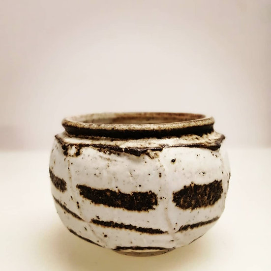 Stoneware Faceted Tea Bowl | By Craig Fowler
