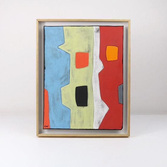 Framed Tile | By Clementina Van Der Walt