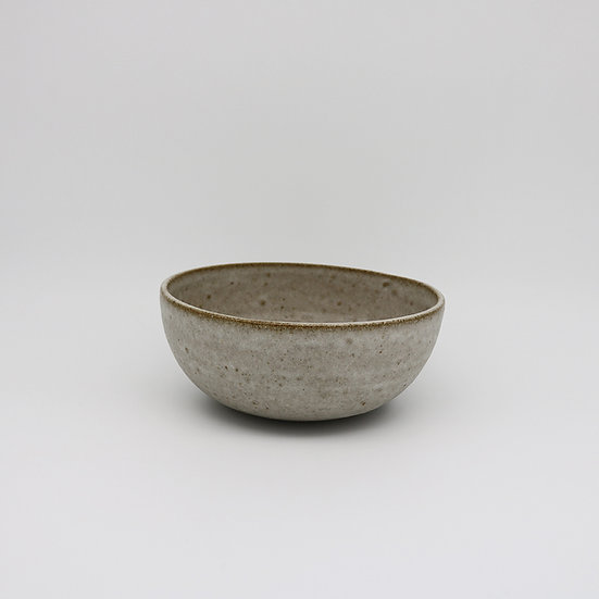 Medium Grey Bowl | By E F Davies
