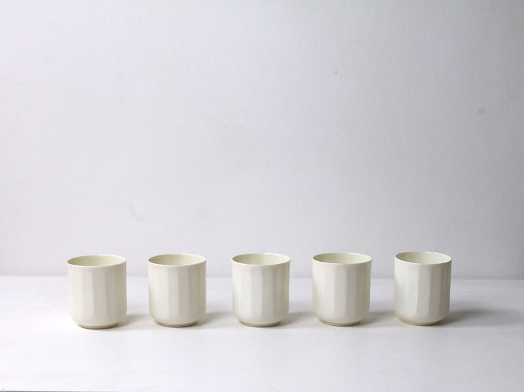 Shaved Small Alistair Translucent Cups  | By The Light Forge