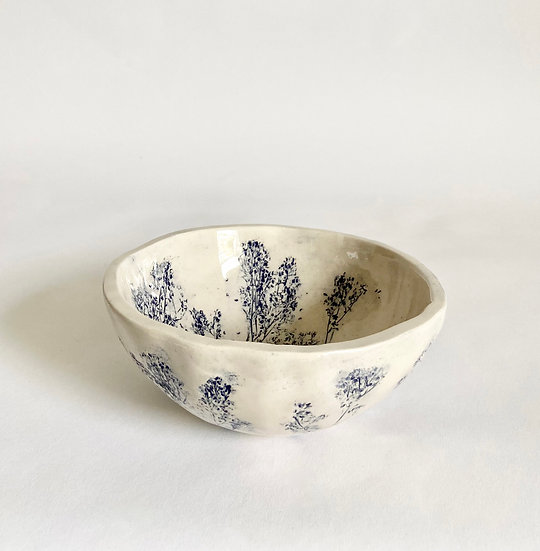 Cloud Grass Small Rounded Bowl | By Zuleika Melluish
