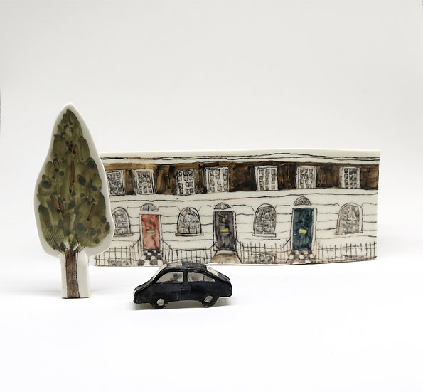 Georgian Street Terrace Set | By Helen Beard