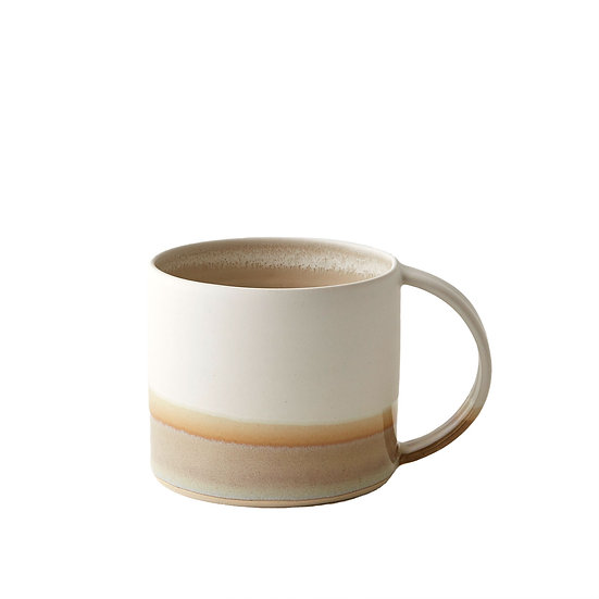 Rainbow Mug - White/Stone | By Emma Lacey