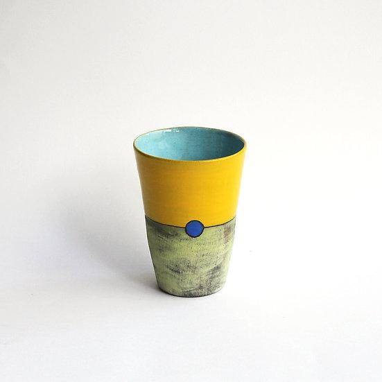 'Colour Me Bright' Beaker | By Clementina Van Der Walt