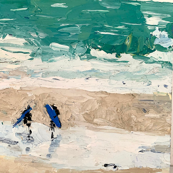 Surfers | By Angeline Tournier