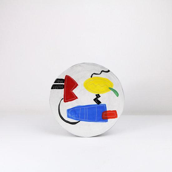 Medium Fusion Plate | By Clementina Van Der Walt