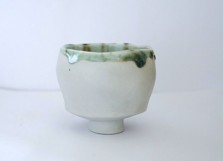 Porcelain Kurinuki Bowl | By Rhiannon Gwyn