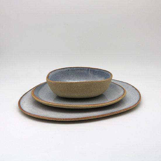 Carrond and Platter Set