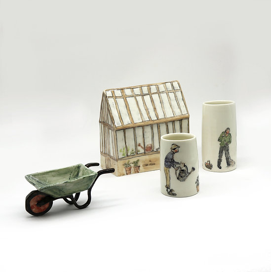 Greenhouse Set | By Helen Beard