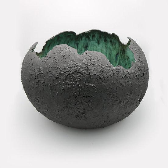 Large Meteorite Vessel | By Lisa Ommanney