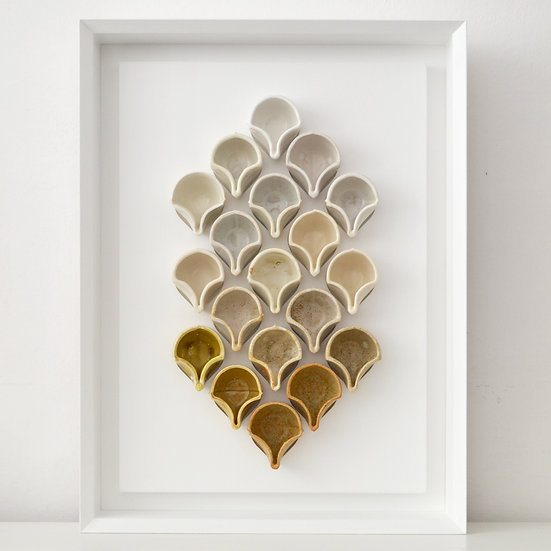 Tessellating Cups, Pale Palette | By Fettle Studio