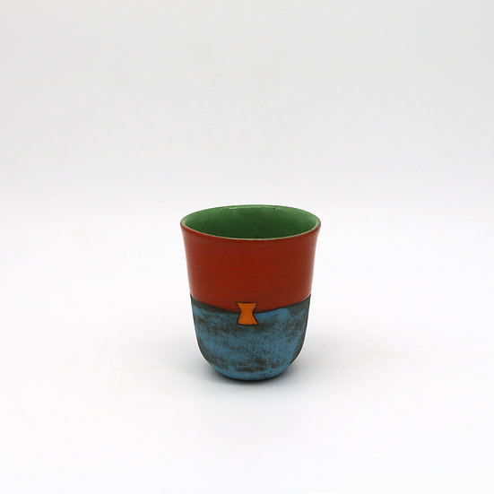 'Colour Me Bright' Small Cup