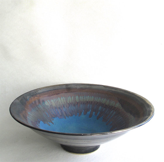 Rainbow Lustred Bowl | By Sarah Perry