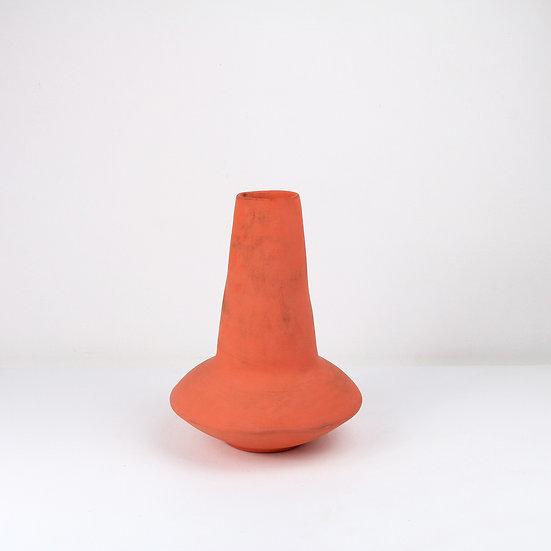 Orange Nomad Vase   By Clementina Van Der Walt