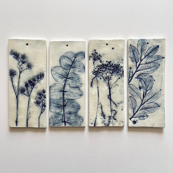 Hanging Tiles (Double-sided) | By Zuleika Melluish