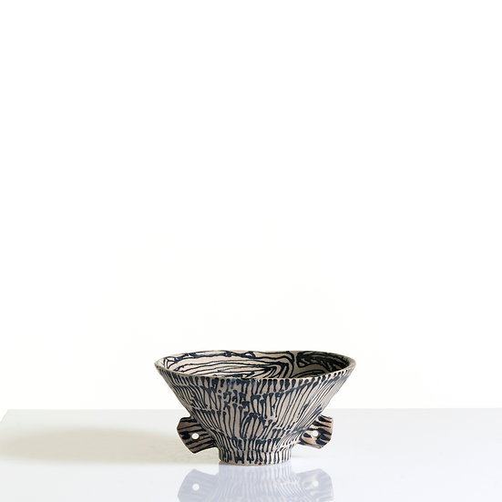 Thrown and Faceted Vessel | By Karine Hilaire