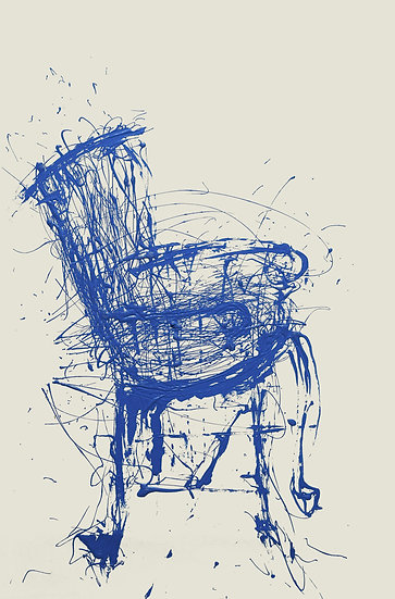Blue Chair | By Beverley Isaacs