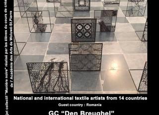 """Les élèves de création textile exposent durant la """"International textile art Biennal"""" du 2"""