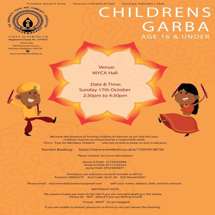 Children's Garba 2021