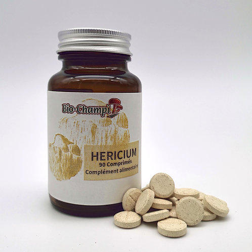 Pilulier de 90 comprimés de Hericium