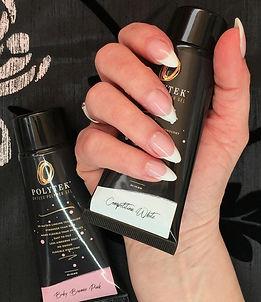Ikon.iQ Nails Polytek Classic Pink and W