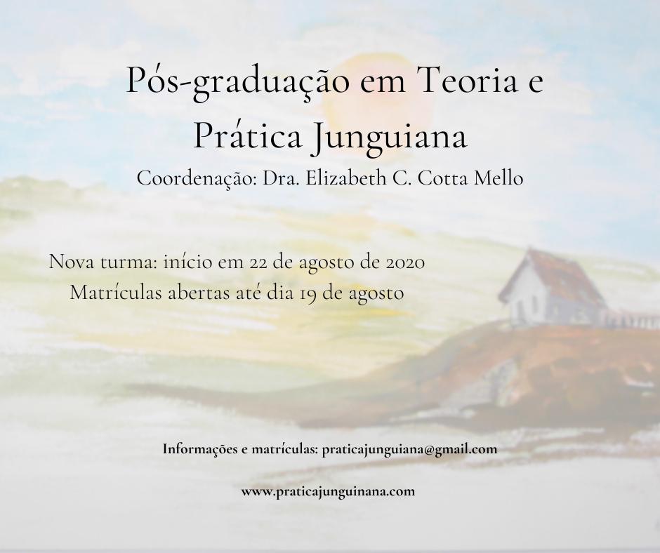Nova turma Pós-graduação em Teoria e Prática Junguiana