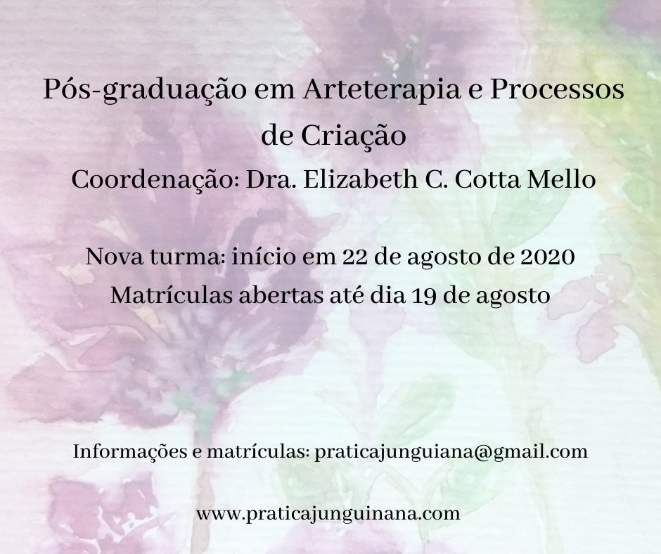 Nova turma Pós-graduação em Arteterapia e Processos de Criação
