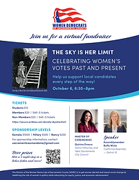 The Sky Is Her Limit Virtual Fundraiser