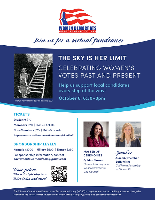 Join us in celebrating Women's Votes, Past and Present!