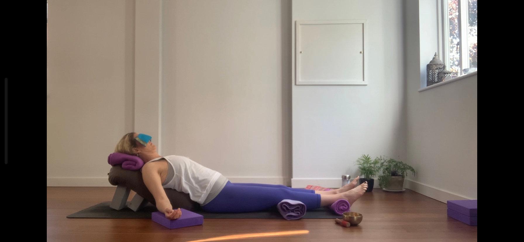 Online Live Restorative Yoga